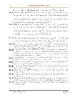 Chuyên đề Giải toán bằng sơ đồ lớp 4+5