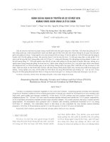 báo cáo khoa học đề tài ĐÁNH GIÁ ĐA DẠNG DI TRUYỀN VÀ SỰ CÓ MẶT GEN KHÁNG VIRUS XOĂN VÀNG LÁ Ở CÀ CHUA
