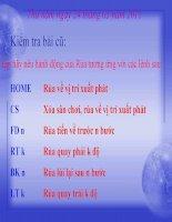 Bài 3. sử dụng câu lệnh lặp