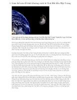 Đo khảng cách từ Trái đất đến Mặt Trăng