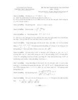 Đề thi thử THPT quốc gia năm 2015 môn toán trường THPT bạch đằng, hải phòng