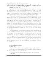 BÁO CÁO THỰC TẬP-MỘT SỐ KINH NGHIỆM DẠY TỐT MÔN THỰC HÀNH CÔNG NGHỆ 9