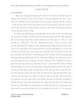 BÁO CÁO THỰC TẬP-MỘT SỐ KINH NGHIỆM TỔ CHỨC TRÒ CHƠI DÂN GIAN Ở TIỂU HỌC