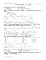 40 câu hỏi trắc nghiệm tin học 11