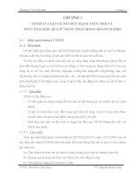 THỰC TRẠNG KẾ TOÁN TSCĐ VÀ PHÂN TÍCH HIỆU QUẢ SỬ DỤNG TSCĐ TẠI TỔNG CÔNG TY XÂY DỰNG THỦY LỢI 4 - CTCP