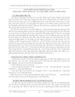 BÁO CÁO THỰC TẬP-SÁNG KIẾN KINH NGHIỆM DẠY HỌC PHÁT HUY TÍCH CỰC TỰ GIÁC HỌC TẬP CỦA HỌC SINH
