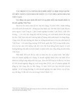 luận văn kế toán TÁC ĐỘNG CỦA CHÍNH SÁCH ĐỔI MỚI VÀ HỘI NHẬP QUỐC TẾ ĐẾN NHÂN CÁCH DOANH NHÂN VÀ VĂN HÓA KINH DOANH VIỆT NAM