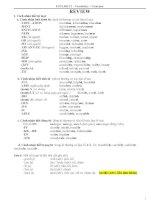 Từ vựng, Ngữ pháp tiếng Anh lớp 12 (Có bài tập)