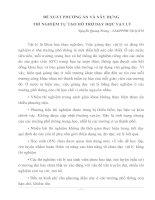 BÁO CÁO THỰC TẬP-ĐỀ XUẤT PHƯƠNG ÁN VÀ XÂY DỰNG THÍ NGIHEMEJ TỰ TẠO HỖ TRỢ DẠY HỌC VẬT LÝ