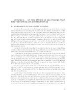 Chương 3: Các phương pháp biểu thị nội dung bản đồ