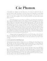 Tài liệu tìm hiểu về Phonon