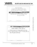 Bài tập thuế và quản lý thuế ôn thi công chức