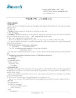 bồi dưỡng học sinh giỏi lớp 12 _Wriiting_