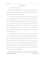 PHÂN TÍCH,ĐÁNH GIÁ THỰC TRẠNG VÀ ĐỀ XUẤT MỘT SỐ GIẢI PHÁP NHẰM MỞ RỘNG HOẠT ĐỘNG TÍN DỤNG ĐỐI VỚI DNVVN TẠI NGÂN HÀNG CÔNG THƯƠNG HOÀN KIẾM