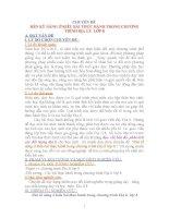 CHUYÊN ĐỀ  RÈN KỸ NĂNG Ở KIỂU BÀI THỰC HÀNH TRONG CHƯƠNG TRÌNH ĐỊA LÝ  LỚP 8