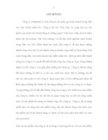 PHÂN TÍCH ĐÁNH GIÁ THỰC TRẠNG VÀ CÁC GIẢI PHÁP NHẰM HOÀN THIỆN CHIẾN LƯỢC SẢN PHẨM CỦA CÔNG TY PRUDENTIAL VÀ NÂNG CAO KHẢ NĂNG THOẢ MÃN NHU CẦU CỦA KHÁCH HÀNG