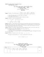 Đề thi HSG Toán 8 Nga Sơn (09-10)