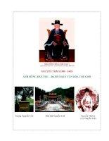 Ảnh hưởng của tư tưởng Nho giáo trong Quốc âm thi tập của Nguyễn Trãi