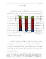 PHÂN TÍCH ĐÁNH GIÁ THỰC TRẠNG VÀ ĐỀ XUẤT MỘT SỐ GIẢI PHÁP NHẰM NÂNG CAO HIỆU QUẢ HOẠT ĐỘNG CHO VAY TIÊU DÙNG CÓ TÀI SẢN ĐẢM BẢO TẠI CHI NHÁNH THẠNH MỸ LỢI