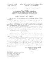 Quyết định 08/2011/UBND tỉnh An Giang Quy định chế độ công tác phí, chế độ chi
