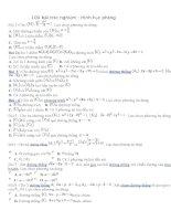 bộ đề trắc nghiệm toán 12