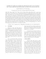 NGHIÊN CỨU CHẾ TẠO VÀ KHẢO SÁT TÍNH QUANG XÚC TÁC CỦA MÀNG TiO2 TẠP CHẤT V BẰNG PHƯƠNG PHÁP ĐỒNG PHÚN XẠ PHẢN ỨNG MAGNETRON DC