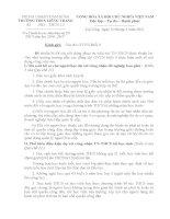 hướng dẫn chuẩn bị xét tốt nghiệp THCS