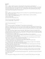 Bộ đề ôn thi nhanh Văn THPT (Bộ đề 2)