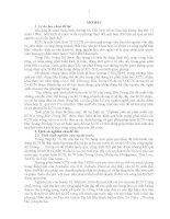NGHIÊN CỨU SỰ PHÁT TRIỂN CÁC KHU CÔNG NGHIỆP Ở VÙNG BẮC TRUNG BỘ