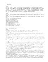 Ôn thi nhanh Văn THPT(Bộ Đề 3)