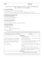Giáo án Tin học lớp 6 trọn bộ_CKTKN_Bộ 10