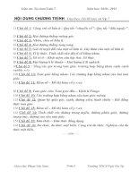 Giáo án Tự chọn Toán 7 cả năm(Đầy đủ_Bám sát)