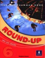 Tài liệu English Grammar Book   Round UP 6