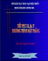 tóan 12 phương trình mặt phẳng _N.V Biên
