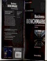 Business Bench mark Pre Intermedite Personal Study Book