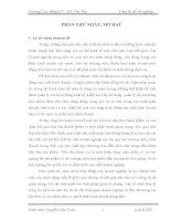 luận văn kế toán  TỔ CHỨC KẾ TOÁN TIÊU THỤ VÀ XÁC ĐỊNH KẾT QUẢ KINH DOANH TẠI CÔNG TY TNHH BẢO TÍN HOÀNG LONG.DOC