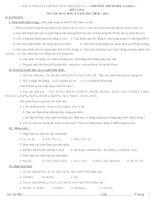 đề cương ôn tập HK2 môn hóa học 8