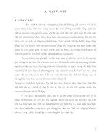 VẬN DỤNG KIẾN THỨC SAU MỖI BÀI ĐỂ TẠO RA CÁC  CÂU HỎI TRĂC NGHIỆM TRONG CHƯƠNG TRÌNH SINH HỌC 12