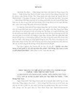 tóm tắt luận văn thạc sĩ  Nghiên cứu thực trạng cơ chế quản lý vốn của tập đoàn Bưu chính- Viễn thông Việt Nam và một số giải pháp hoàn thiện