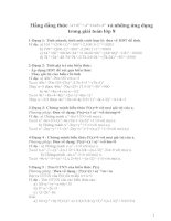 2 hang dang thuc dau&nhung ung dung trong giai toan 8