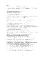 Chuyên đề hàm số rất hay toán 9