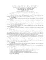 TẬP HUẤN TĂNG CƯỜNG NĂNG LỰC CHO GIẢNG VIÊN ĐHSP VỀ ĐỔI MỚI PHƯƠNG PHÁP DẠY HỌC CÁC MÔN HỌC LỚP 12 PHÂN BAN