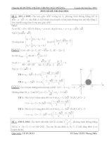 đề thi và đáp án PHƯƠNG TRÌNH ĐƯỜNG THẲNG OXY