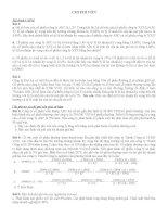 bài tập về chi phí vốn trong kinh tế đầu tư