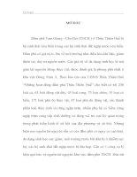 PHÂN TÍCH THỰC TRẠNG VÀ ĐỀ XUẤT GIẢI PHÁP QUẢN LÝ VÀ KHẢ NĂNG ÁP DỤNG CƠ CHẾ TRẢ DỊCH VỤ MÔI TRƯỜNG TẠI ĐẦM PHÁ TAM GIANG  CẦU HAI TỈNH THỪA THIÊN HUẾ