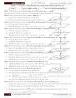 Các dạng toán hình học không gian thường gặp trong thi đại học