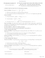 Tuyển tập đề thi và đáp án của bộ GD 1991 2010
