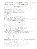Đề thi và đáp án HSG toán 8 2008-2009(Bỉm Sơn)