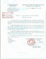 Công văn số 92/UBND-TH hoán đổi ngày nghỉ hàng tuần vào dịp Tết âm lịch và Giỗ Tổ Hùng Vương năm 2011