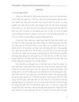 Phương pháp dạy học Chương Trình Hóa